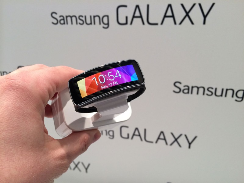this-might-be-the-best-thing-samsung-announced-today--the-gear-fit-a-sleek-little-fitness-tracking-gadget