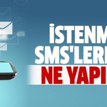 Reklam SMS'leri Şikayet Edebilirsiniz.